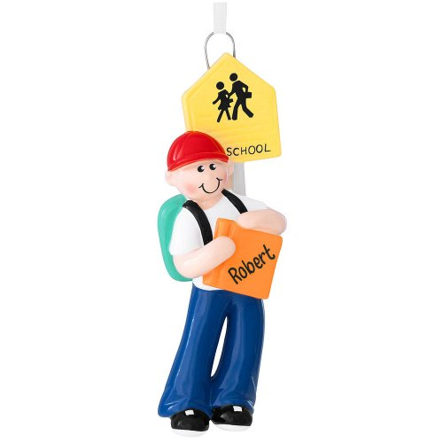 School Boy Ornament