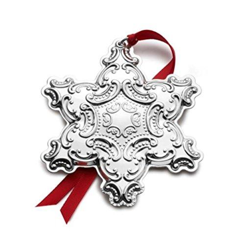 Wallace 18th Edition Sterling Grande Baroque Snowflake Ornament