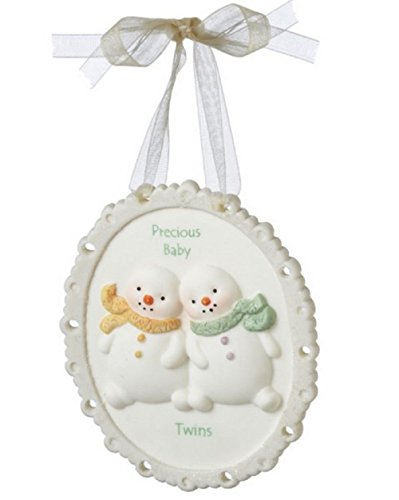 Midwest CBK Precious Baby Twins Plaque Ornament