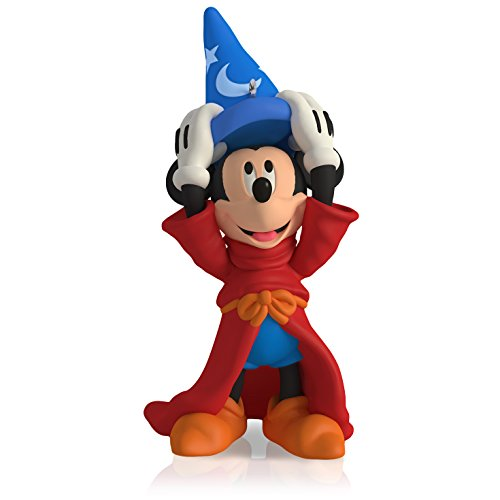 Hallmark Keepsake Ornament Disney Fantasia The Sorcerer's Apprentice Mickey Mouse 4th in The Mickey's Movie Mouseterpieces Series