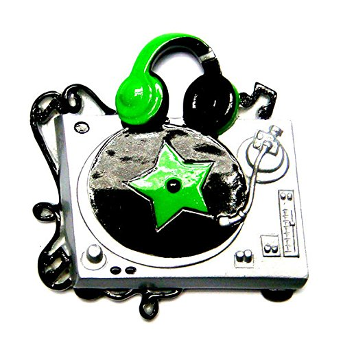 DJ Turntable Personalized Christmas Tree Ornament