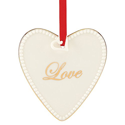 Lenox Expressions from The Heart, Love China Ornament