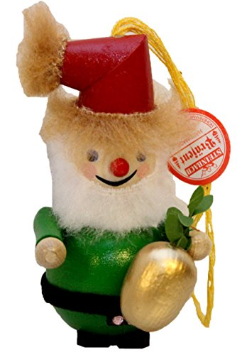 Retired Steinbach Pineapple Santa German Wooden Christmas Ornament