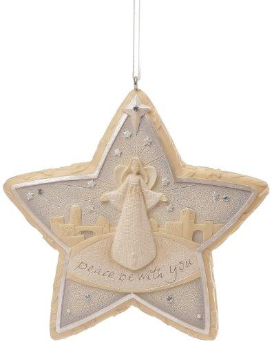 Enesco Foundations Gift Nativity Star Ornament, 1.02-Inch