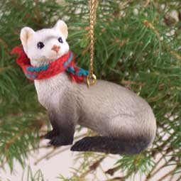 Conversation Concepts Ferret Original Ornament