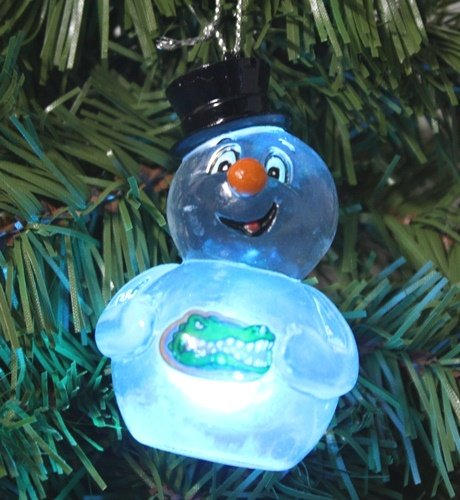 NCAA Florida Gators Light-Up Snowman Ornament