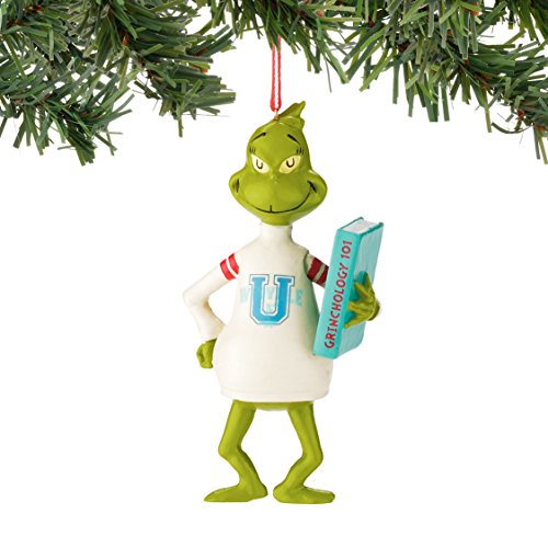 Department 56 Classics Grinch Who U Sweater Ornament