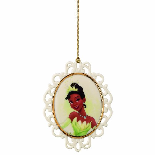 Lenox Tiana Cameo Ornament Disney Showcase Collection