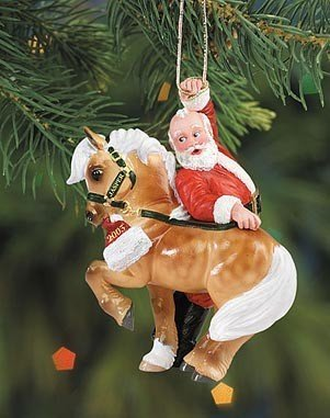 Breyer – Jaspers Hijinks Ornament – Holiday
