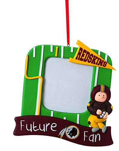 Washington Redskins Photo Frame Ornament