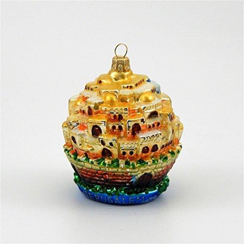 Jerusalem Gate Ball – Polish Blown Glass Ornament