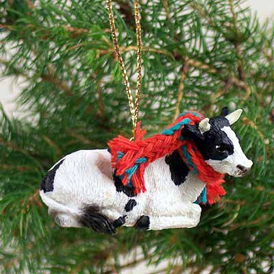 Conversation Concepts Holstein Bull Original Ornament