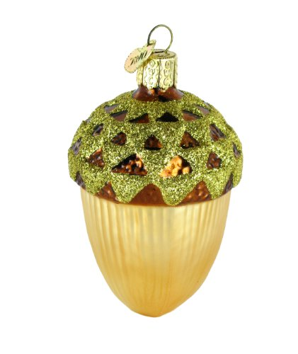 Old World Christmas Large Acorn Ornament