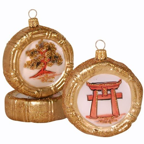 Ornaments to Remember: TORII GATE Christmas Ornament (Disk)