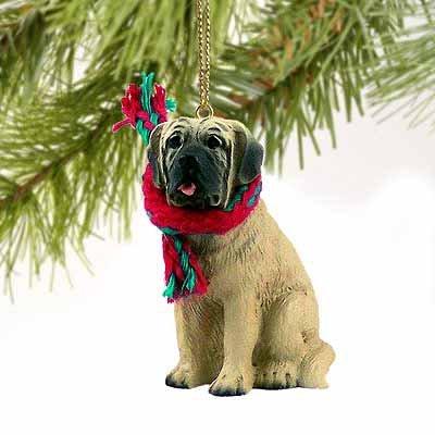Mastiff Miniature Dog Ornament