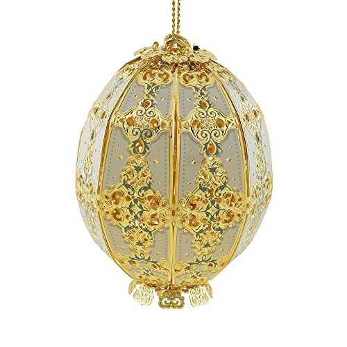 ChemArt 2015 Trellis Egg Ornament