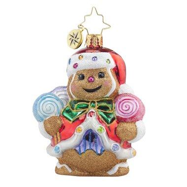 Christopher Radko Ginger Sweet Claus Gem