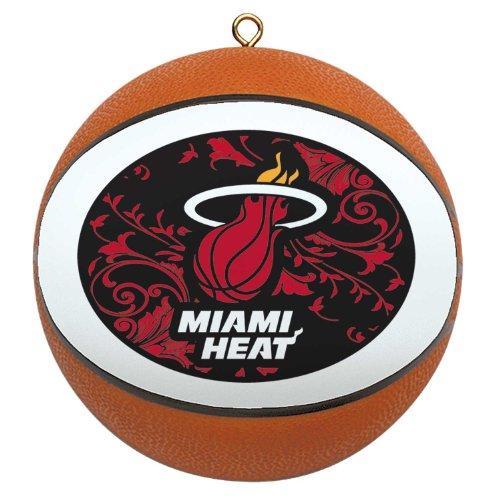 NBA Miami Heat Mini Replica Basketball Ornament