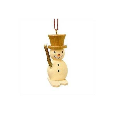 Alexander Taron Importer 10-0113 Christian Ulbricht Ornament, Snowman on Skis