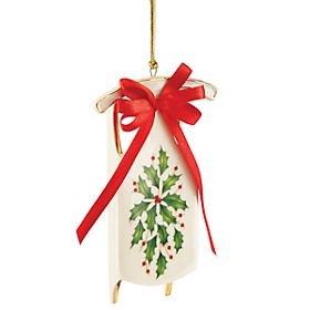 Lenox Holiday Sleigh China Ornament