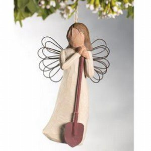Willow Tree Angel of the Garden Ornament DEMDACO #26118