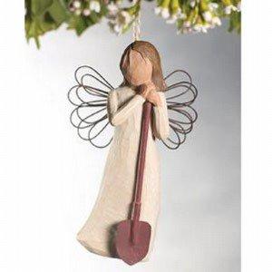 Willow Tree Angel of the Garden Ornament DEMDACO #26118