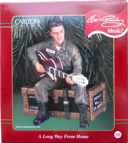 Carlton 2000 Elvis A Long Way From Home Ornament