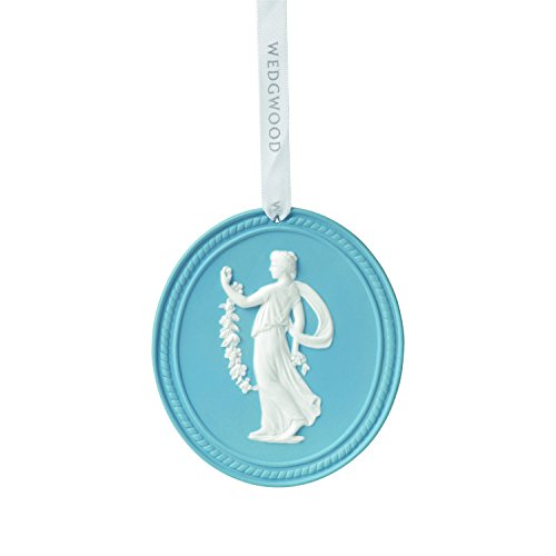Wedgwood Annual 2015 Christmas Ornament, Blue