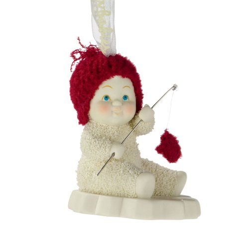 Department 56 Snowbabies by Kristi Jensen Pierro Catch of The Day Ornament, 2.76-Inch