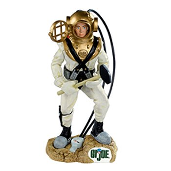 Carlton Heirloom GI Joe Toy Deep Sea Diver Christmas Ornament #CXOR-121R