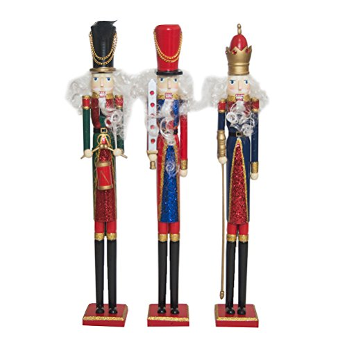 Set of 3 22″ Nutcrackers By Mark Roberts