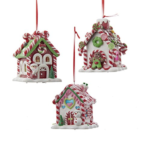 Kurt Adler Led Gingerbread House Ornament