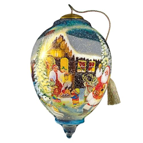 Ne'Qwa Art To All a Good Night Ornament By Artist D Morgan 797