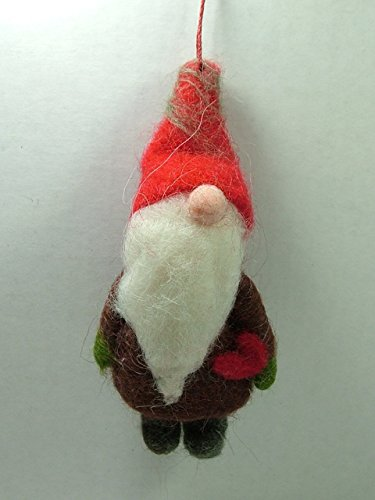 Garden Gnome Lawn Dwarf Christmas Ornament One Hundred 80 Degrees