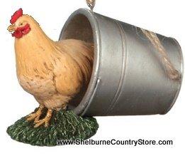 Farm Animal Scene Ornament – Chicken