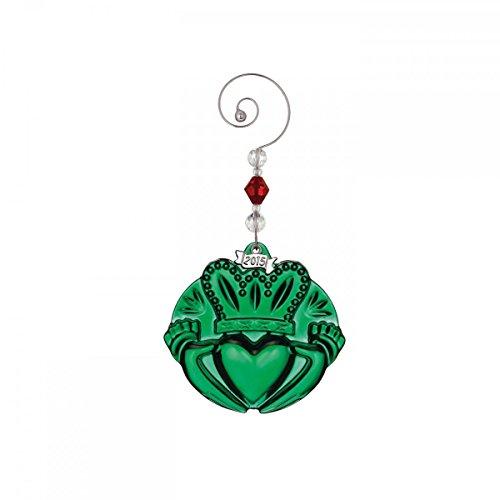 Waterford Green Claddagh Ornament