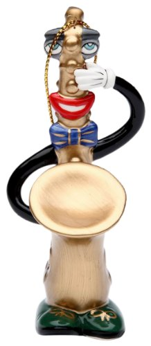 Appletree Design Saxophone Ornament, 4-1/4-Inch Tall, Includes String for Hanging