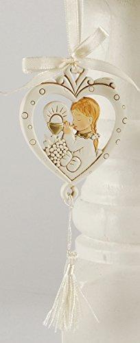 Blossom Bucket 151-71708 Girl Communion Heart Ornament, 2-3/4″