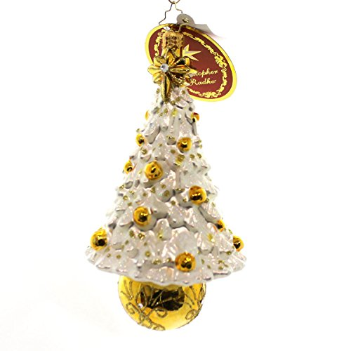 Christopher Radko Gilded Wonder Christmas Ornament