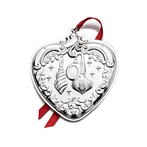 Wallace 24th Edition Sterling Grande Baroque Heart Ornament