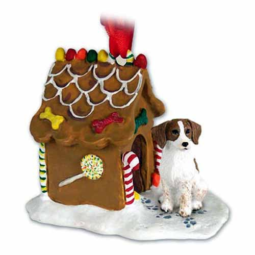 Brittany Gingerbread House Christmas Ornament Brown-White – DELIGHTFUL!