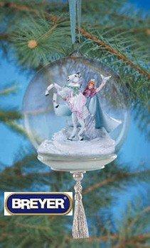 Spirit of Peace Glass Globe Ornament