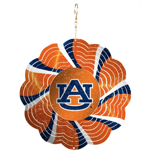 Auburn University Geo Spinner Christmas Ornament