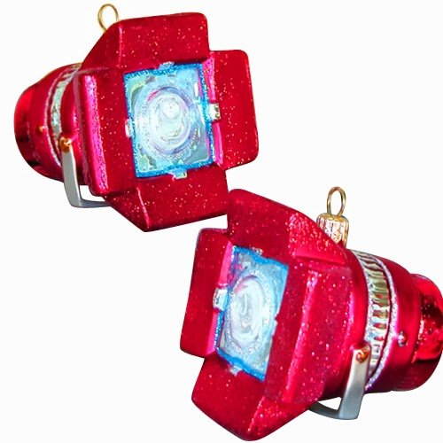 Ornaments to Remember: MOVIE LIGHT Christmas Ornament (Red)