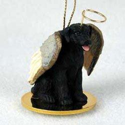Christmas Ornament: Black Lab