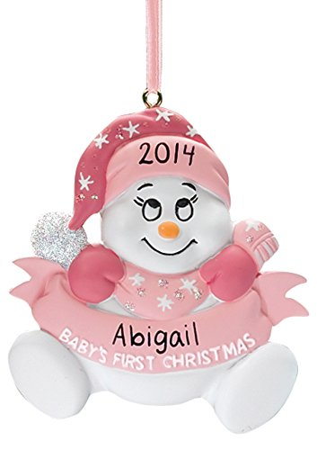 Miles Kimball Personalized Snowbaby's First Christmas Ornament