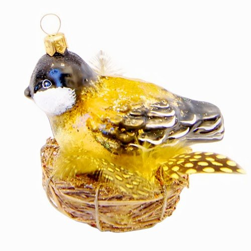 Ornaments to Remember: BIRD NEST Christmas Ornament