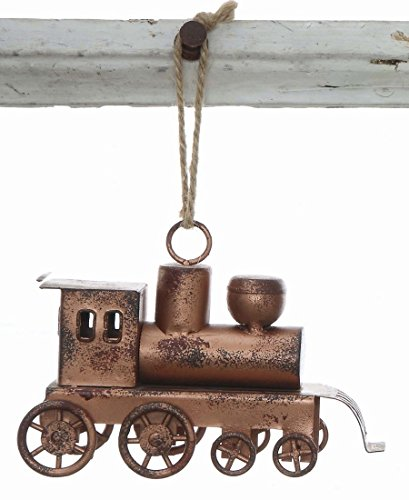 Metal Train Christmas Tree Ornament