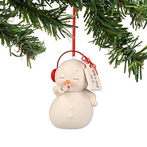 Department 56 Snowpinions Snowman Ornament Put A Ring On It