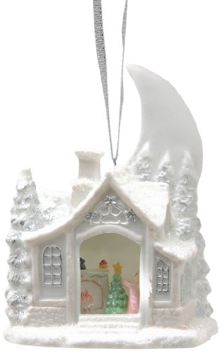 Appletree Design Christmas Eve Light Cover Ornament, 3-5/8-Inch Tall, Christmas Tree Light Fits Snugly into House
